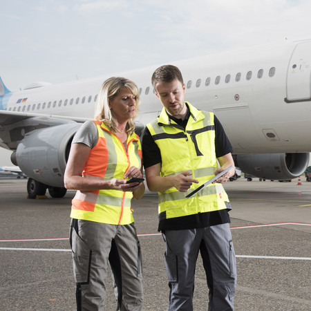 Aviation Solutions: Integrated software portfolio for airport handling.